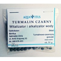 Tourmaline Black (Multifunctional, alkalizing tourmaline ceramic granulate)