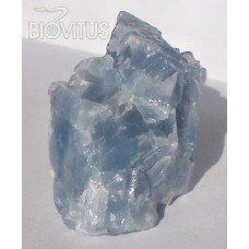 Blue calcite, raw